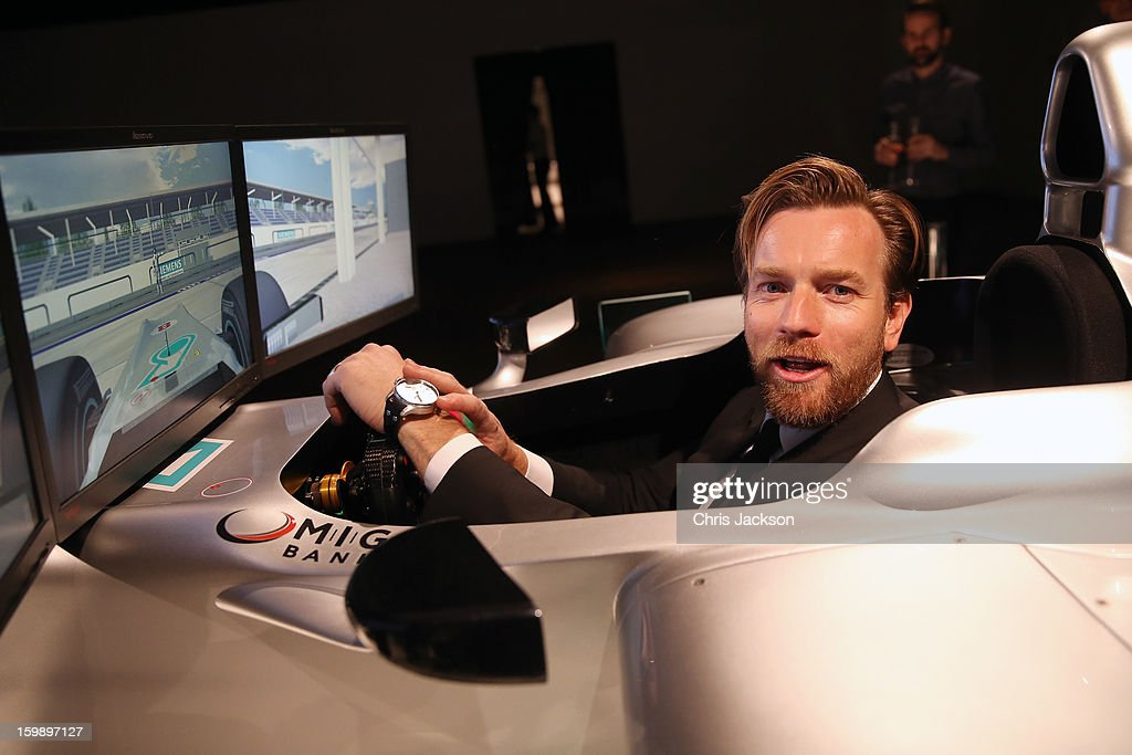 <a gi-track='captionPersonalityLinkClicked' href=/galleries/search?phrase=Ewan+McGregor&family=editorial&specificpeople=202863 ng-click='$event.stopPropagation()'>Ewan McGregor</a> attends the IWC Schaffhausen Race Night event during the Salon International de la Haute Horlogerie (SIHH) 2013 at Palexpo on January 22, 2013 in Geneva, Switzerland.