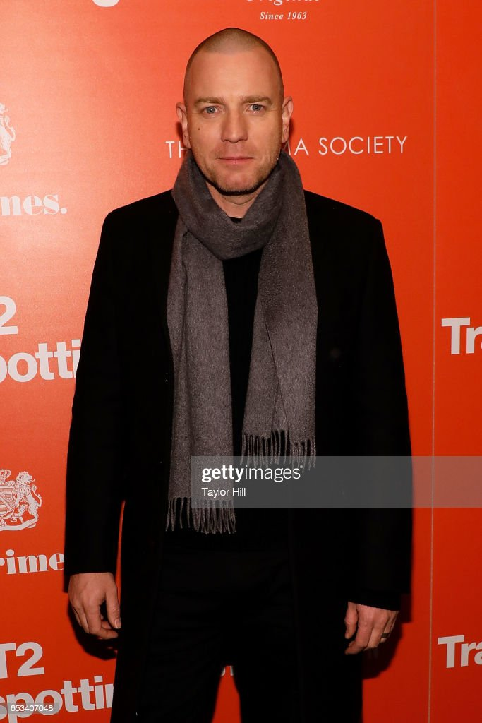 Ewan McGregor attends the New York premiere of 'T2: Trainspotting' at Landmark Sunshine Cinema on March 14, 2017 in New York City.