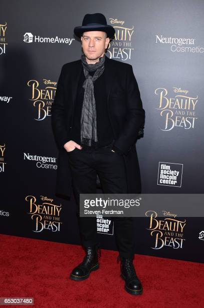 Ewan McGregor attends the New York Screening of 'Beauty And The Beast' at Alice Tully Hall on March 13 2017 in New York City