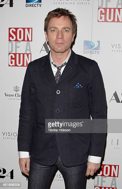 Ewan McGregor attends the 'Son Of A Gun' Los Angeles screening at The London West Hollywood on January 20 2015 in West Hollywood California