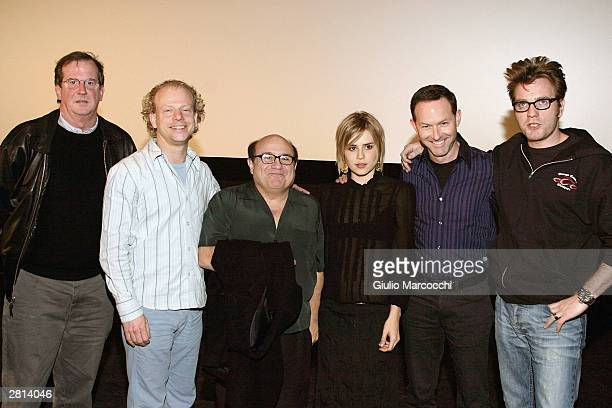 Ewan McGregor Dan Jinks Alison Lohman Danny DeVito Bruce Cohen and Peter Hammond attend the Variety Screening Series 'Big Fish' on December 15 2003...