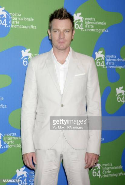 Ewan McGregor during a photocall for the film 'Cassandra's Dream' at the Venice Film Festival in Italy