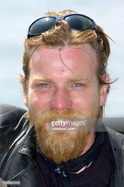 Ewan McGregor during Ewan McGregor and Charley Boorman Complete their Epic 20000 Mile Motorbike Journey for Bravo at Battery Park in New York City...