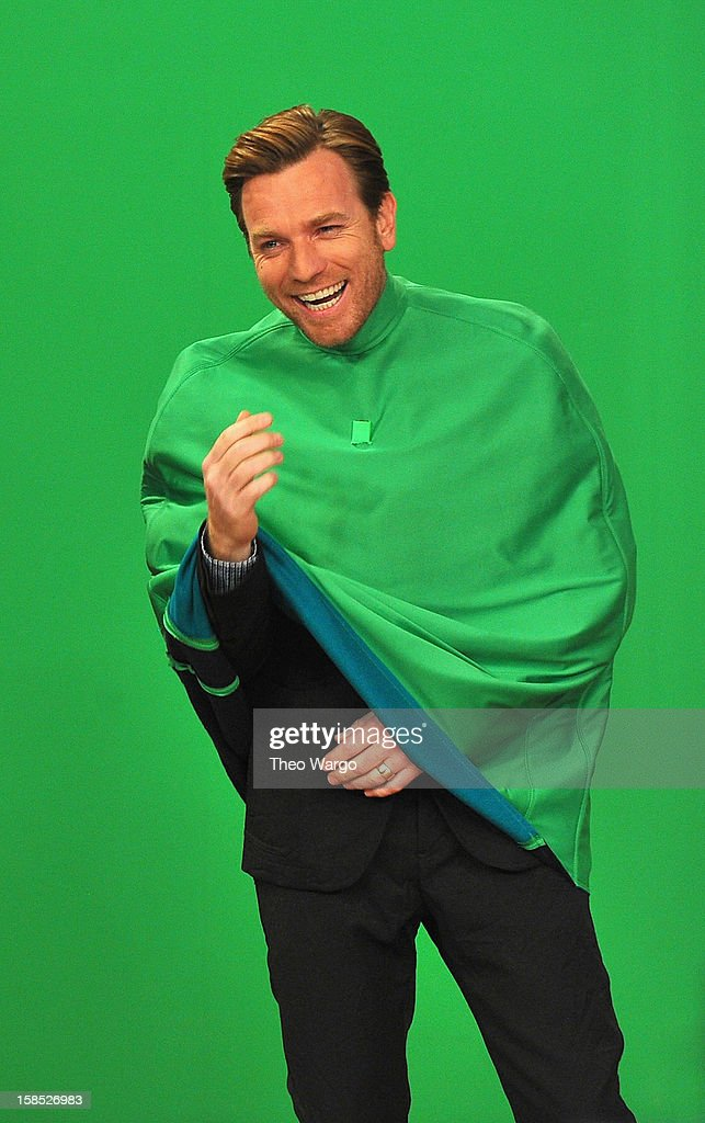 Ewan McGregor performs a skit during a taping of 'Late Night With Jimmy Fallon' at Rockefeller Center on December 17, 2012 in New York City.