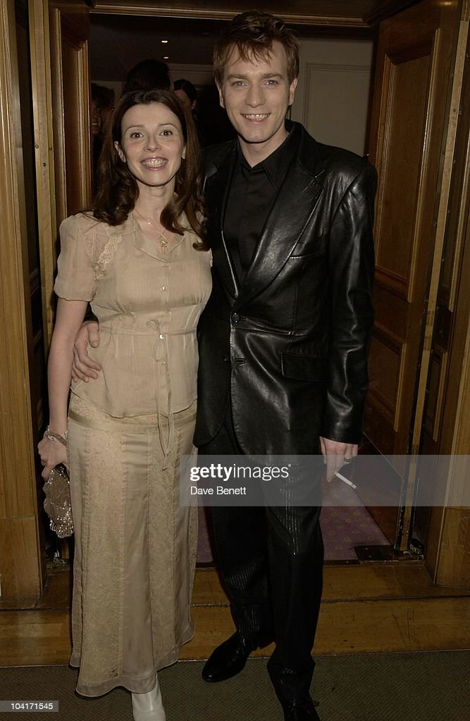 Ewan Mcgregor & Wife Eve, Evening Standard Film Awards, At The Savoy Hotel, London