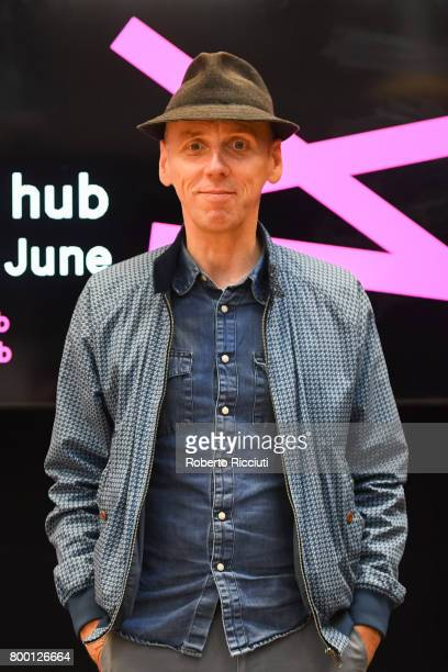 Ewen Bremner attends a photocall for the event 'In Person Ewen Bremner' during the 71st Edinburgh International Film Festival at Youth Hub on June 23...
