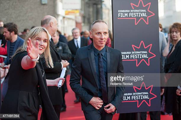 Ewen Bremner attends the Opening Night Gala and World Premiere of 'The Legend of Barney Thomson' during the Edinburgh International Film Festival...