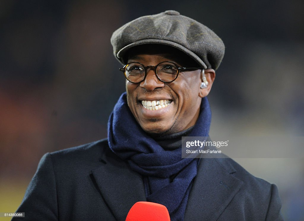 Ex Arsenal player and tv pundit Ian Wright before the Emirates FA Cup 5th Round replay between Hull City and Arsenal at the KC Stadium on March 8...