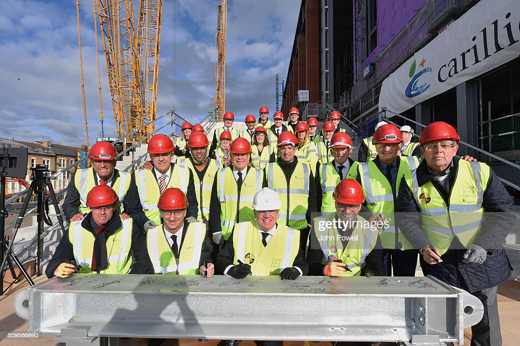 Liverpool FC Topping Out Ceremony