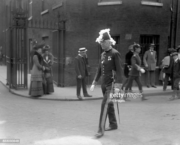 Ex Prime Minister Arthur Balfour at the King George V Levee