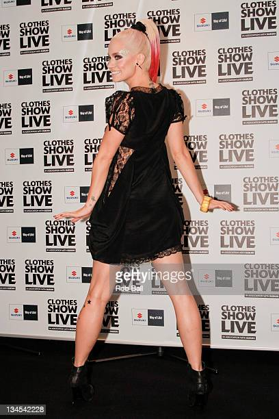 ex Pussycat Doll Kimberly Wyatt attends Clothes Show Live at NEC Arena on December 2 2011 in Birmingham England