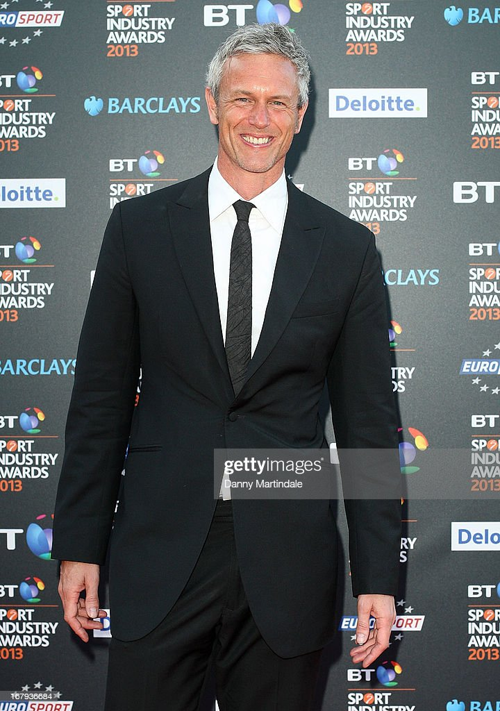 Ex swimmer Mark Foster attends the BT Sports Industry awards at Battersea Evolution on May 2, 2013 in London, England.