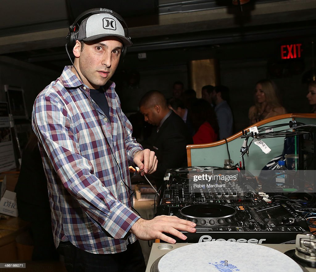 DJ Exacta attends Developing Faces Spring Charity Event on April 22, 2014 in New York City.