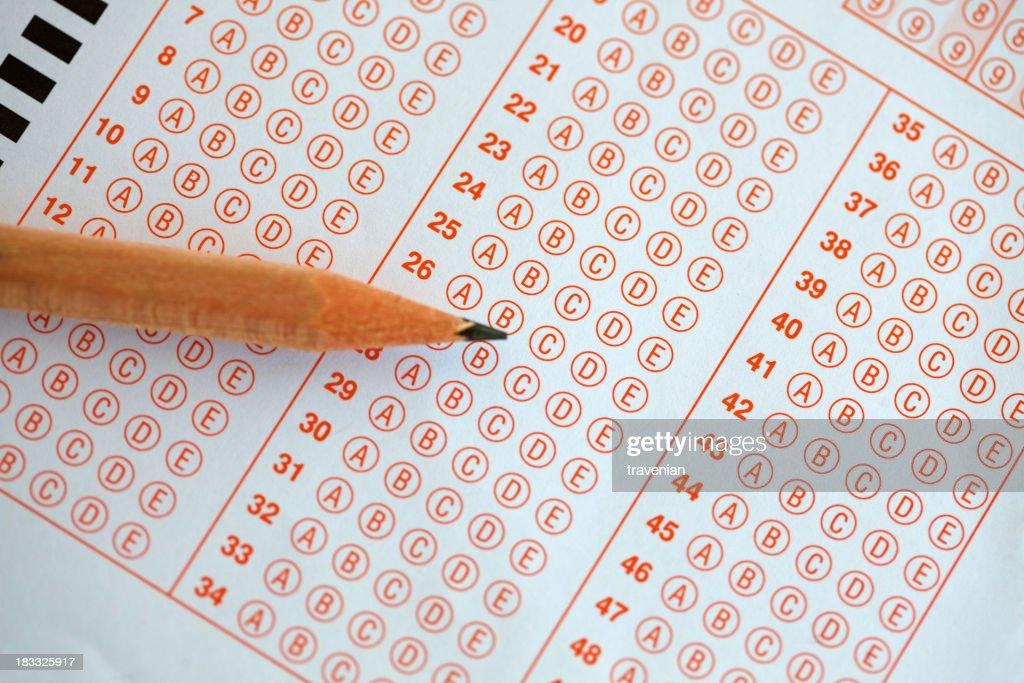 Schulische Prüfung : Stock-Foto