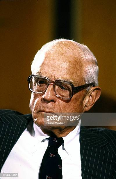 ExAmbassador to the USSR Thomas Watson testifying before Senate Foreign Relations Committee hearing re Soviet relations