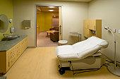 Examination room, medical building
