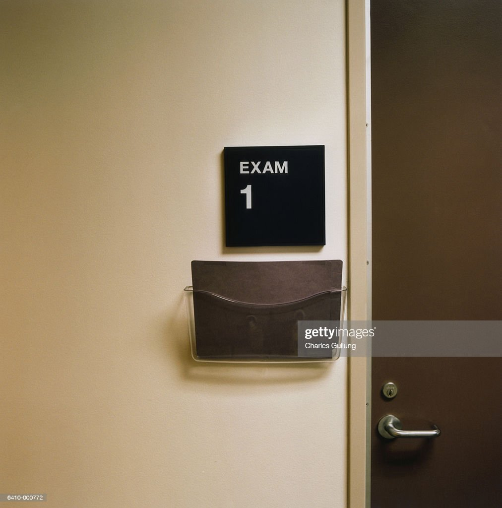 Examination Room Sign : Stock Photo