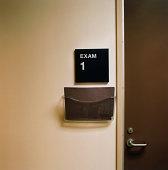 Examination Room Sign