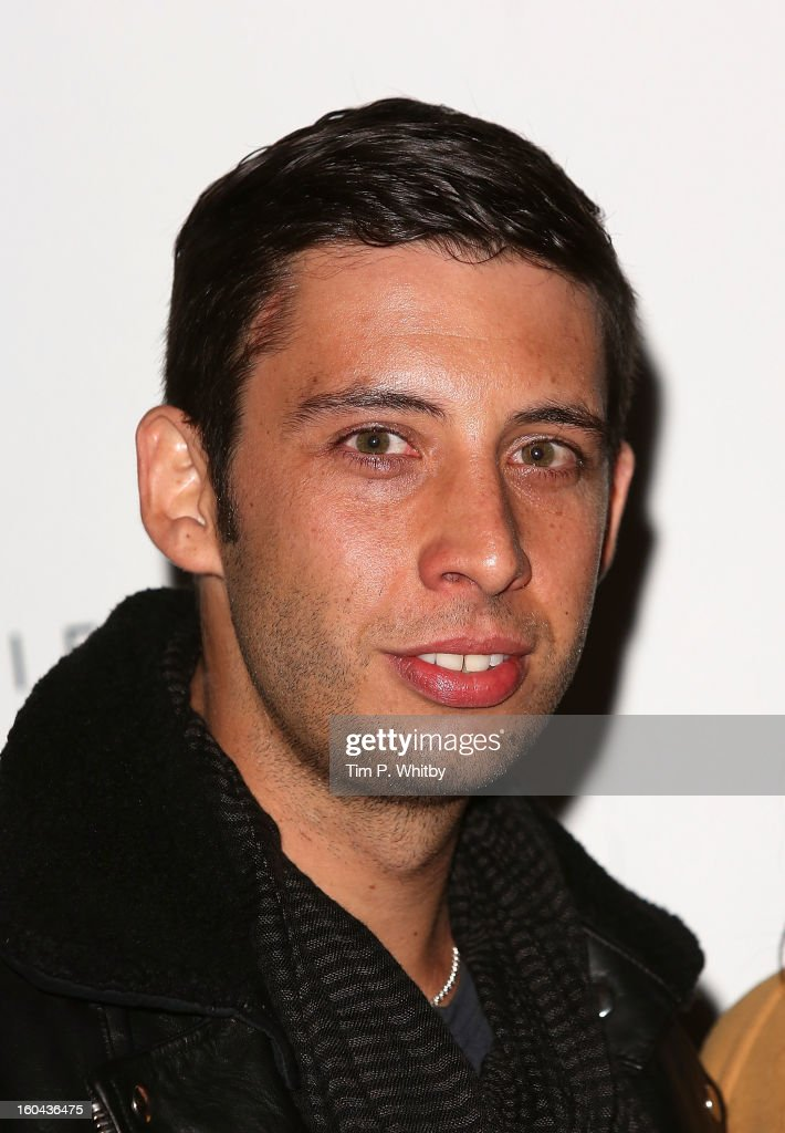 Example attends 'The View from The Shard' launch party at The Shard on January 31, 2013 in London, England. The Shard is Western Europes tallest building and opens to the public on 1st February.