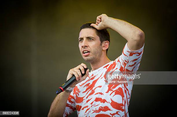 Example performs at V Festival at Hylands Park on August 21 2016 in Chelmsford England