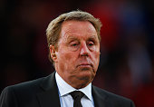 ExBournemouth manager and pundit Harry Redknapp looks on prior to the Sky Bet Championship match between AFC Bournemouth and Bolton Wanderers at...