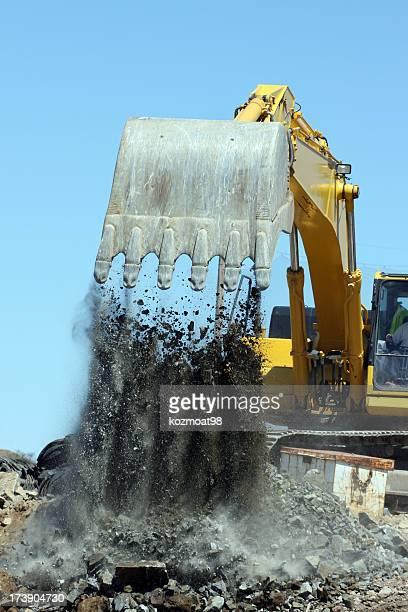 Excavator de travail