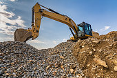 Heavy machinery for construction