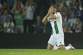 Excelsior Mimoun Mahi of FC Groningen during the Dutch Eredivisie match between FC Groningen and Excelsior Rotterdam at Euroborg on August 21 2015 in...