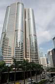 Exchange Square 1 and 2 home of Hong Kong Exchanges Clearing Ltd sits in the Central district in Hong Kong China on Wednesday Aug 12 2015 Hong Kong...