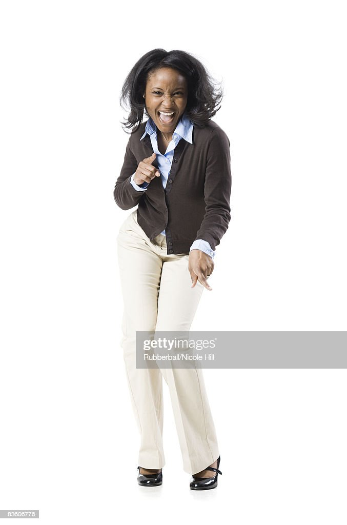 excited businesswoman : Stock Photo