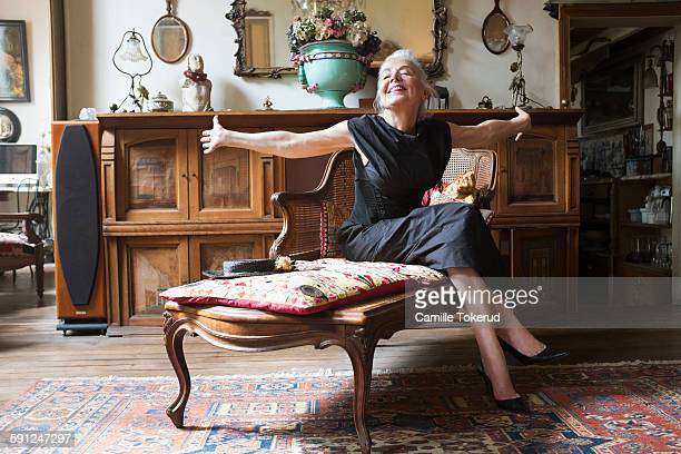 Antique Fainting Couch Stock Photos And Pictures Getty