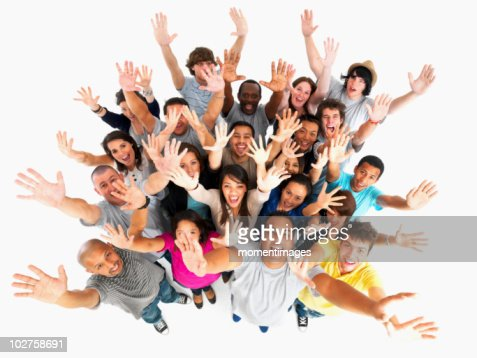 Excited people : Stock Photo