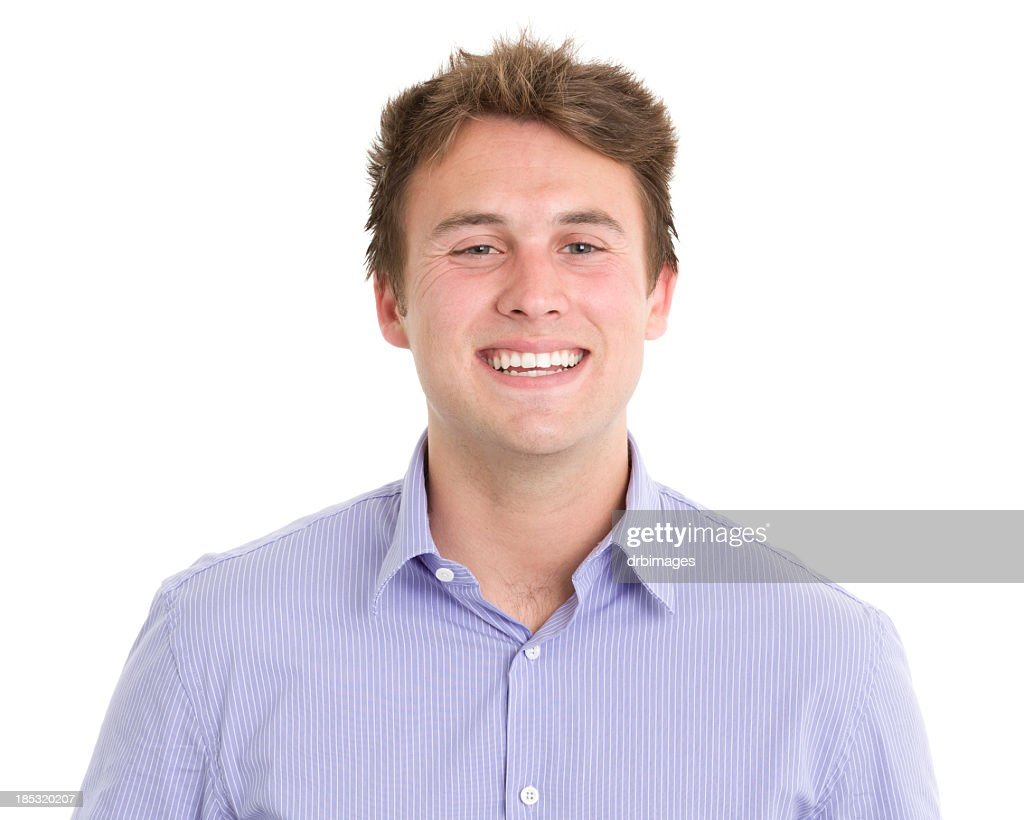 Excited Young Man