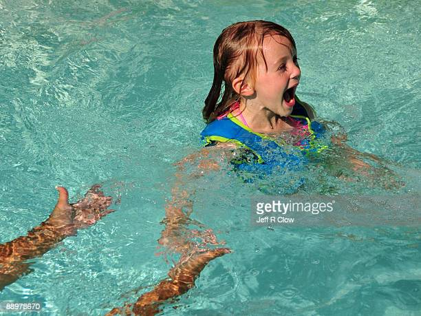 Excitement in the Pool