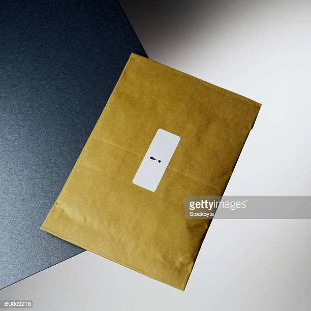 Exclamation Point on Padded Envelope