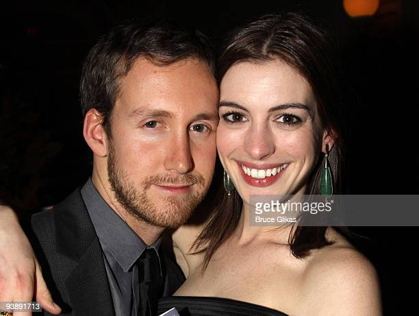 *Exclusive Coverage* Adam Shulman and girlfriend Anne Hathaway attend the opening night celebration for 'Streetcar Named Desire' BAM Belle Reve Gala...