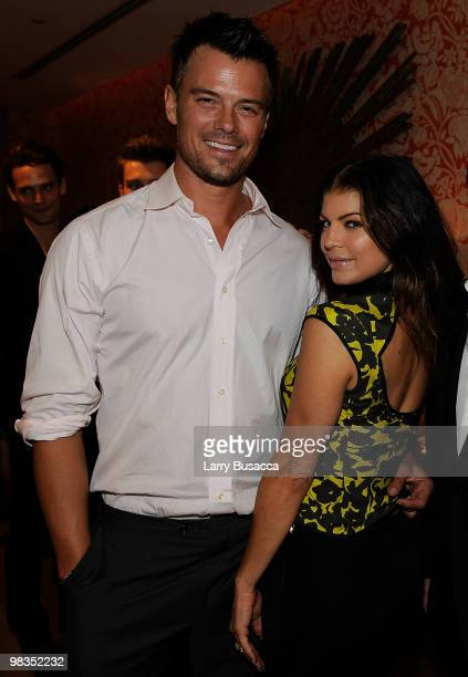 * Exclusive Coverage * Josh Duhamel and Fergie attend Avon and Elle Magazine Celebrate May Issue with Fergie at the Crosby Street Hotel on April 9...