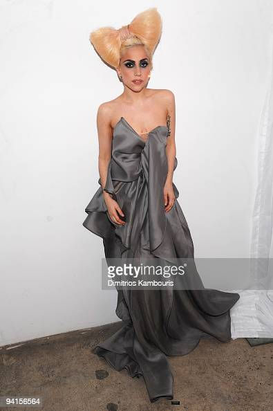 *Exclusive Coverage* Lady Gaga attends the launch of VEVO the world's premiere destination for premium music video and entertainment at Skylight...