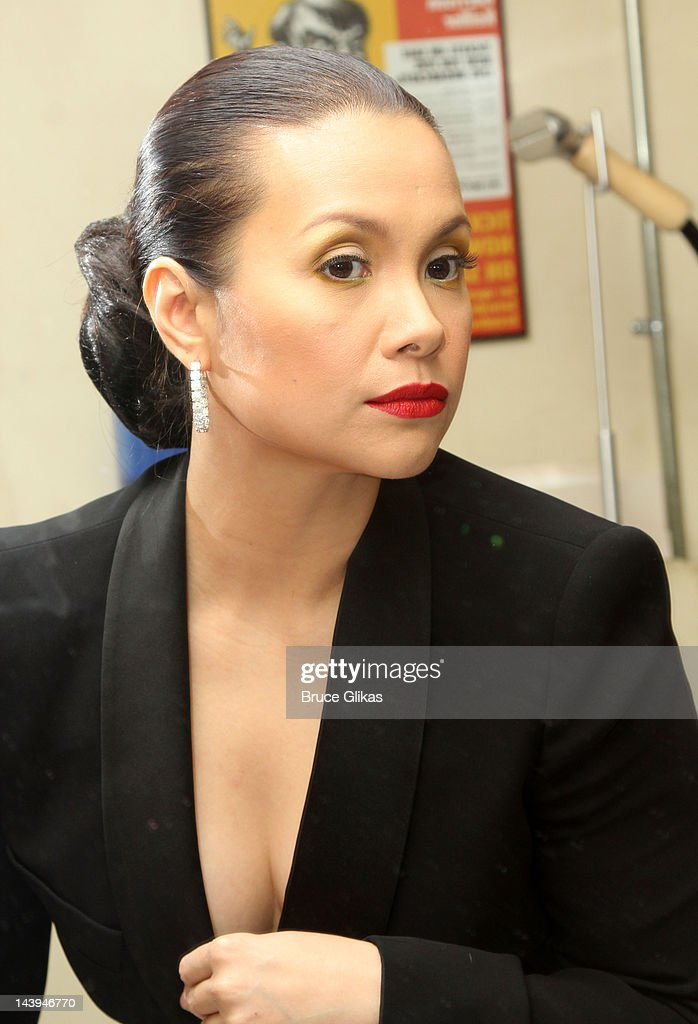 *Exclusive Coverage* Lea Salonga backstage at 'Lea Salonga: The Journey Continues on Broadway' on Broadway at The Town Hall on May 5, 2012 in New York City.