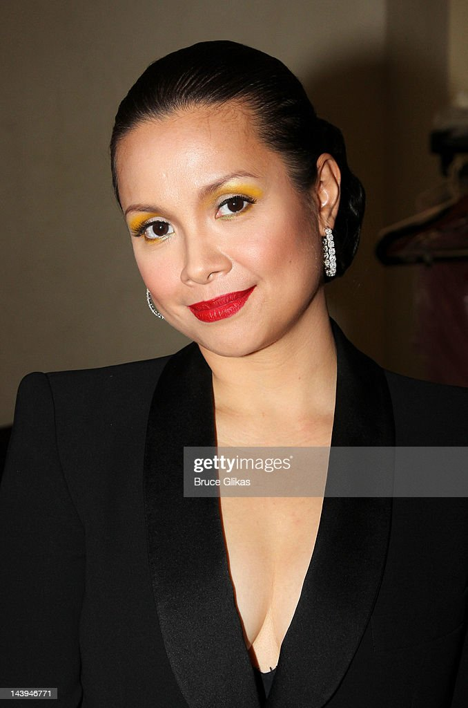 *Exclusive Coverage* Lea Salonga poses backstage at 'Lea Salonga: The Journey Continues on Broadway' on Broadway at The Town Hall on May 5, 2012 in New York City.
