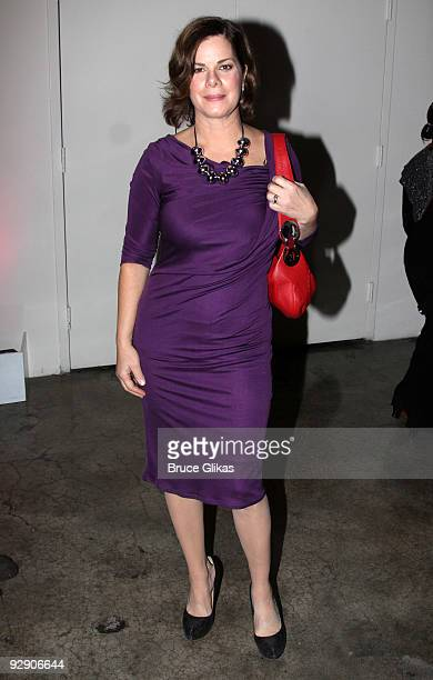 *Exclusive Coverage* Marcia Gay Harden poses at the Stage Directors And Choreographers Society 50 Year Celebration at Tribeca Rooftop on November 8...