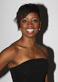 *Exclusive Coverage* Montego Glover poses at the Stage Directors And Choreographers Society 50 Year Celebration at Tribeca Rooftop on November 8 2009...