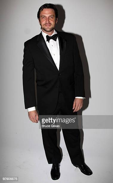 *Exclusive Coverage* Raúl Esparza poses at the Stage Directors And Choreographers Society 50 Year Celebration at Tribeca Rooftop on November 8 2009...