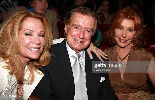 *Exclusive Coverage* Talk Show Hosts Kathie Lee Gifford Regis Philbin and wife Joy Philbin have a Reunion at The Arrivals for The Opening Night of...