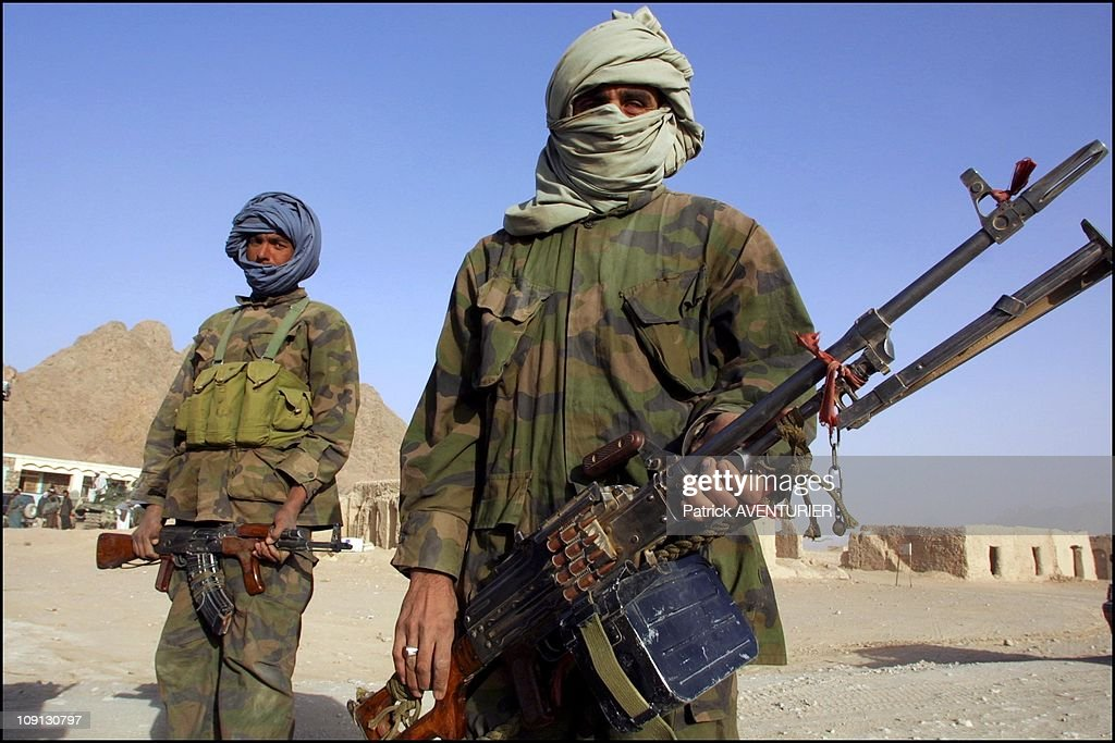 Exclusive Northern Alliance Troops Entering In Kandahar On October 12Th Afghanistan