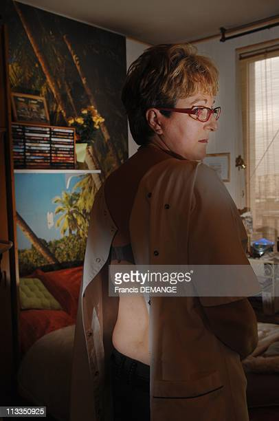 Exclusive Nosocomial Disease Victims In Paris France In March 2007 Veronica Hessler 42 years old professional nurse she was operated for a herniated...