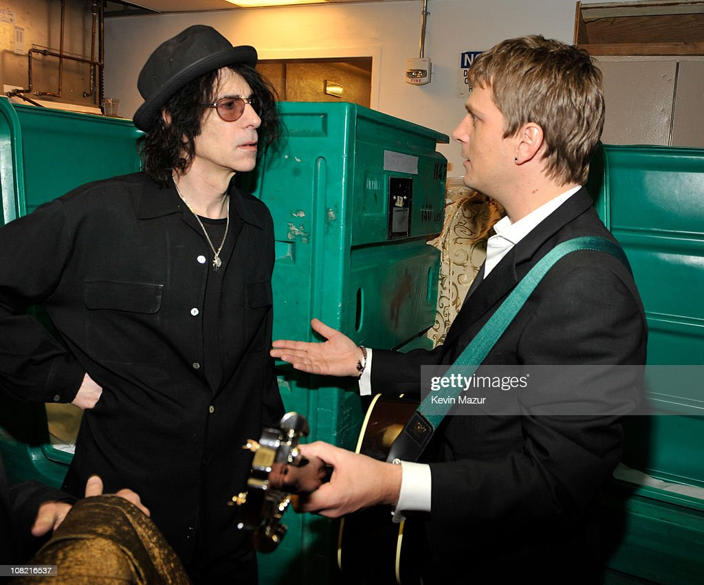 *Exclusive* Peter Wolf and Rob Thomas attends the 25th Annual Rock and Roll Hall of Fame Induction Ceremony at The Waldorf=Astoria on March 15, 2010 in New York, New York.