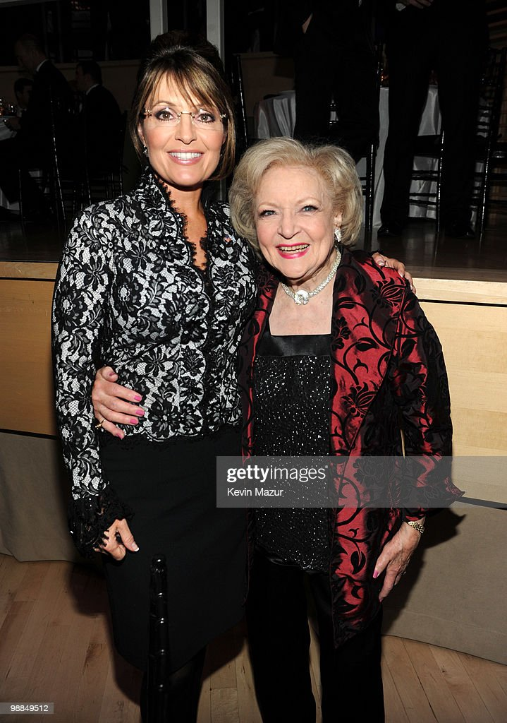 *Exclusive* Sarah Palin and Betty White attends Time's 100 most influential people in the world gala at Frederick P. Rose Hall, Jazz at Lincoln Center on May 4, 2010 in New York City.