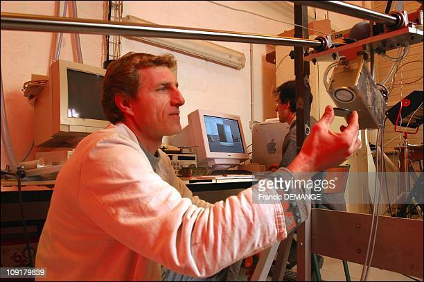 Exclusive Secrets Of StoneSkipping Uncovered By Physics On January 7 2004 In Marseille France Franck Dutertre The Builder And Operator Of Ricoche The...