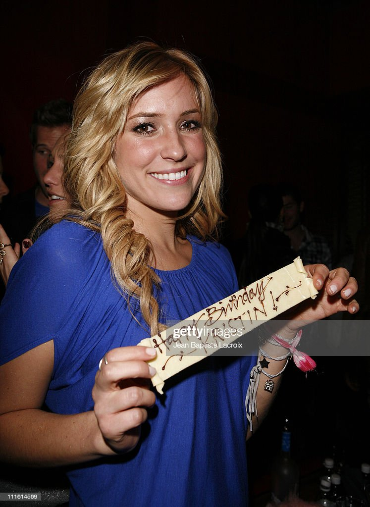 **Exclusive**Kristin Cavallari celebrates her birthday on January 16 2007 at Stone Rose Lounge in West Hollywood California